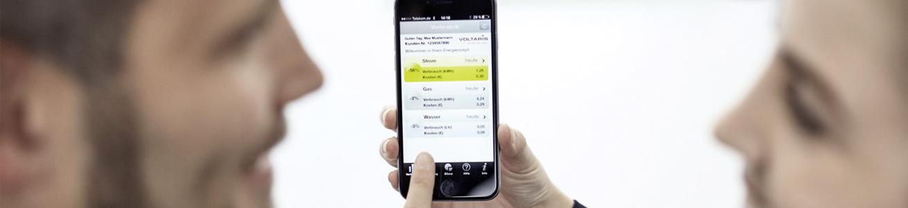 Webportal, Energiedaten, Energieverbrauch, Smart Metering, Smart Home, Energie App